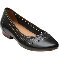 Women's Clarks Lockney Hot Black Leather