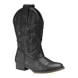 Girls' Volatile Grit Boot Black Synthetic