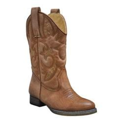 Girls' Volatile Grit Boot Tan Synthetic