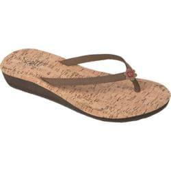 Women's Scott Hawaii Punia Thong Sandal Tan