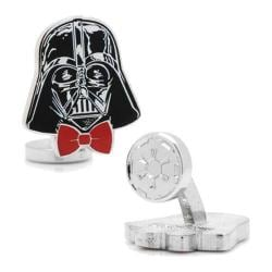 Men's Cufflinks Inc Dapper Darth Vader Cufflinks Black
