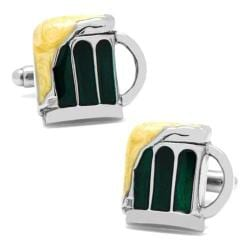 Men's Cufflinks Inc Draught Beer Cufflinks Green