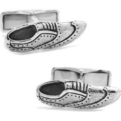 Men's Cufflinks Inc If The Shoe Fits Sterling Brogue Cufflinks Silver
