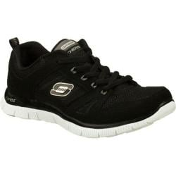 Women's Skechers Flex Appeal Spring Fever Black/White