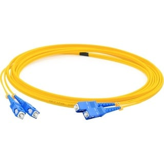 AddOn 2m Single-Mode fiber (SMF) Simplex SC/SC OS1 Yellow Patch Cable