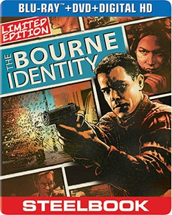 Bourne Identity Limited Edition Steelbook (Blu-ray/DVD) 12502009