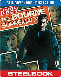Bourne Supremacy Limited Edition Steelbook (Blu-ray/DVD) 12502010