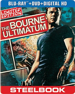 Bourne Ultimatum Limited Edition Steelbook (Blu-ray/DVD) 12502011