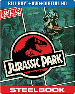 Jurassic Park Limited Edition Steelbook (Blu-ray/DVD) 12502013