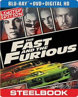 Fast and the Furious Limited Edition Steelbook (Blu-ray/DVD) 12502014