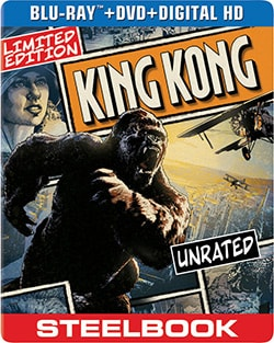 King Kong Limited Edition Steelbook (2005) (Blu-ray/DVD) 12502015