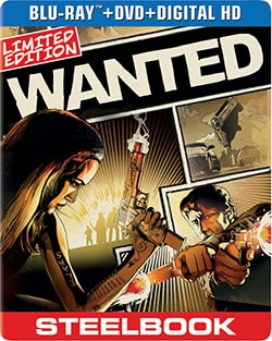 Wanted Limited Edition Steelbook (Blu-ray/DVD) 12502016