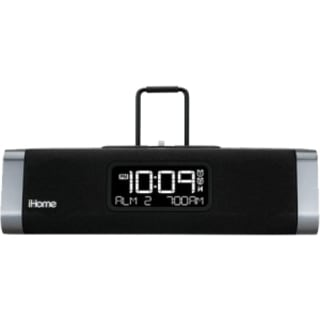 iHome IDL45 Desktop Clock Radio - Stereo - Apple Dock Interface - Pro