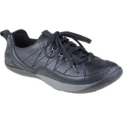 Women's Kalso Earth Shoe Pace Black Grained Calf