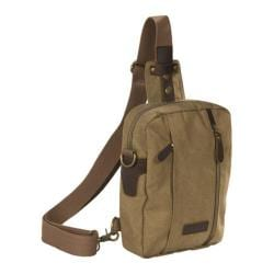 Laurex Convertible Sling/Cross-Body Bag Khaki
