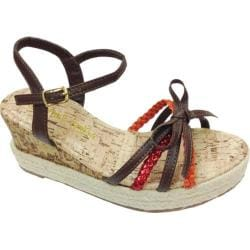 Girls' Laura Ashley LA30866D Brown Multi