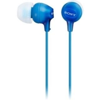 Sony In-Ear Headphones (Blue)