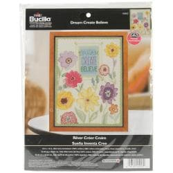 Dream, Create, Believe Counted Cross Stitch Kit - 10 X13