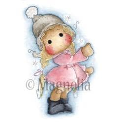 Winter Wonderland Cling Stamp 6.5 X4 Package - Show The Way Tilda