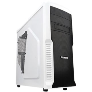 Zalman ATX Mid Tower Computer Case Z3 Plus White