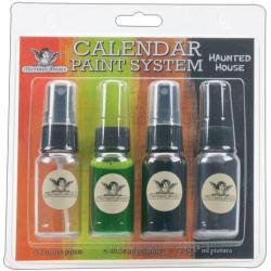 Calendar Paint System - Haunted House