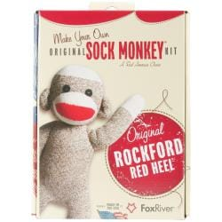 Original Brown Sock Monkey Kit -