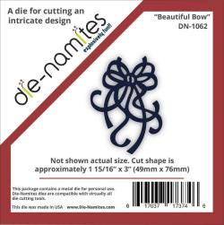 Die-Namites Die - Beautiful Bow, 1.9375 X3