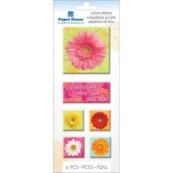 Paper House Canvas Sticker - Daisies