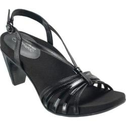 Women's Aetrex Angelina Black Patent Leather