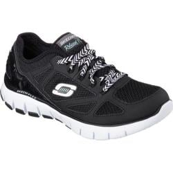 Women's Skechers Relaxed Fit Skech Flex Royal Forward Black/White
