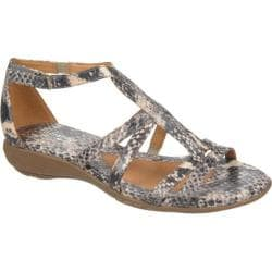 Women's Naturalizer Colleen Natural Printed Snake Piton PU