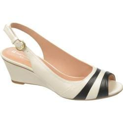 Women's Naturalizer Hampton Ivory/Black PU