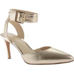 Women's Nine West Callen 9 Light Gold Metallic