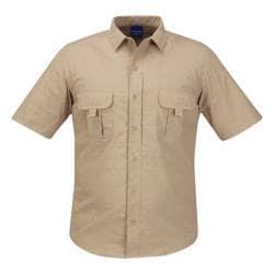 Men's Propper Summerweight Tactical Shirt - Short Sleeve Khaki