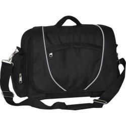 Everest Deluxe Briefcase Black