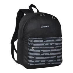 Everest Pattern Printed Backpack (Set of 2) Black/Star Stripe