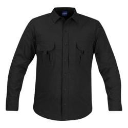 Men's Propper Summerweight Tactical LS Shirt Black