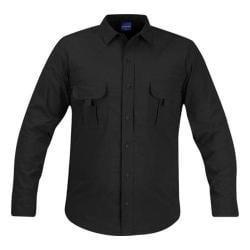 Men's Propper Summerweight Tactical LS Shirt - Long Black