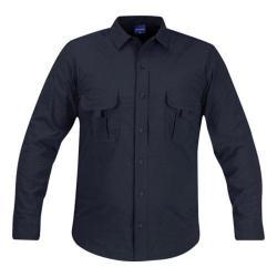 Men's Propper Summerweight Tactical LS Shirt - Long LAPD Navy