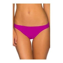 Women's Aerin Rose Classic Brief Swim Bottom Deep Orchid
