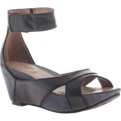 Women's OTBT Hobart Black Leather