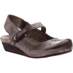 Women's OTBT Springfield Gunmetal Metallic Leather