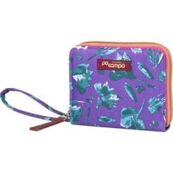 Women's Po Campo Bill Fold Wallet Petals