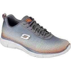 Men's Skechers Equalizer Game Day Training Shoe Charcoal/Orange