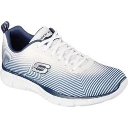 Men's Skechers Equalizer Game Day Training Shoe White/Navy
