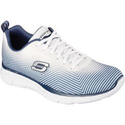 Men's Skechers Equalizer Game Day Training Shoe White/Navy