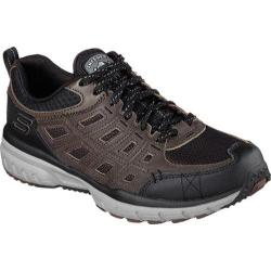 Men's Skechers Geo Trek Trail Shoe Brown/Black