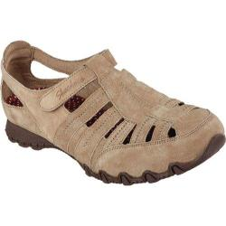 Women's Skechers Relaxed Fit Bikers Snapper Light Brown