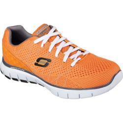 Men's Skechers Relaxed Fit Skech-Flex Orange/Charcoal