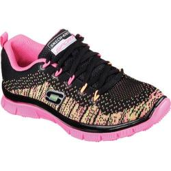Girls' Skechers Skech Appeal Talent Flair Sneaker Black/Multi